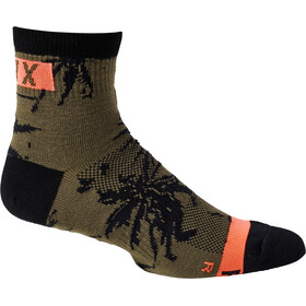 "Fox 4"" Flexair Merino Socks Men, olive green"